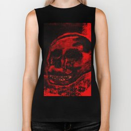 Bloody Skull Biker Tank