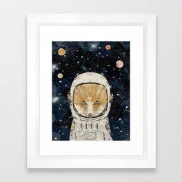 little space fox Framed Art Print
