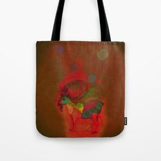 peaceful and happy Tote Bag