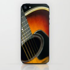 Guitar - Acoustic close up iPhone & iPod Skin