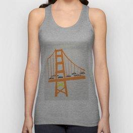 Golden Gate Bridge Unisex Tank Top