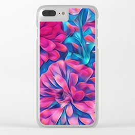 Color Shock Clear iPhone Case