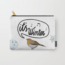 It's winter! Carry-All Pouch