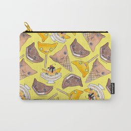"""""""Oro?"""" Ice Creams Yellow Carry-All Pouch"""