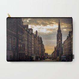 Royal Mile Sunrise in Edinburgh, Scotland Carry-All Pouch