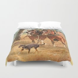 If You Want The Job Done Duvet Cover