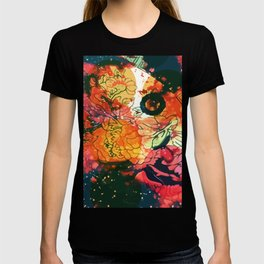 Vintage Pop Abstract Chinese Pattern T-shirt