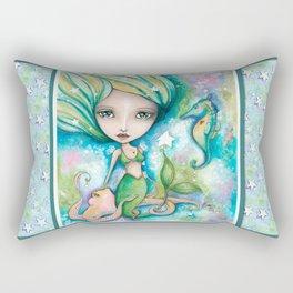 Mermaid Connection Rectangular Pillow