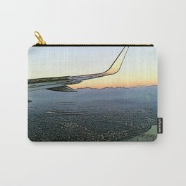 Landing together with the sun Carry-All Pouch