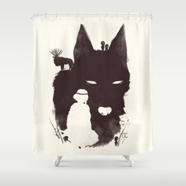 Mononoke Hime Shower Curtain