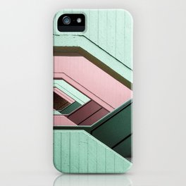 Color stairs iPhone Case