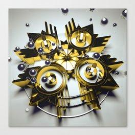 Neo Skyrocket Canvas Print