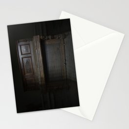 Piano in the dark Stationery Cards