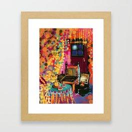 Tea With Gypsies Framed Art Print