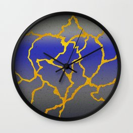 A Mended Heart Wall Clock