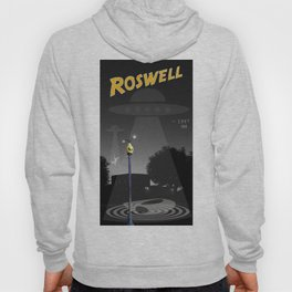 Aliens Over Roswell Hoody