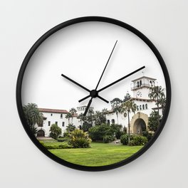 Santa Barbara County Courthouse Wall Clock