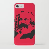 marx iPhone & iPod Cases featuring Marx by muffa