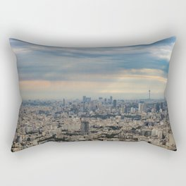 Tehran skyline and cityscape photography Rectangular Pillow