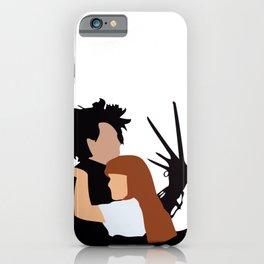 Edward Scissorhands 90s movie iPhone Case