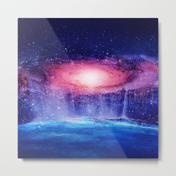 Andromeda Waterfall. Metal Print