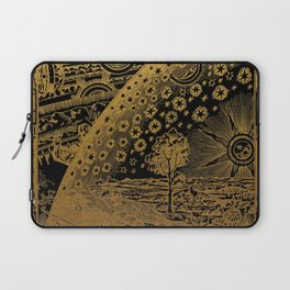 Antique Astronomy Illustration Laptop Sleeve