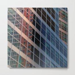 Manhattan Windows - Belts  Metal Print