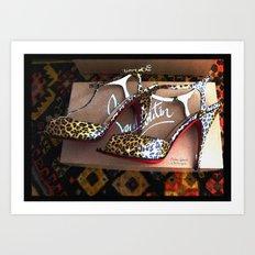 Shoes - Louboutin IV Art Print