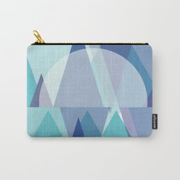 Triangles | Frost Cavern Carry-All Pouch