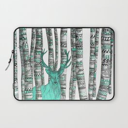 Turquoise Stag Laptop Sleeve