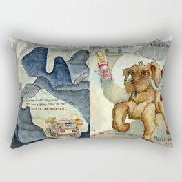 I Hope We Are Not Too Late Rectangular Pillow