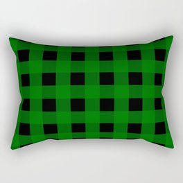 Pine Green Buffalo Check - more colors Rectangular Pillow