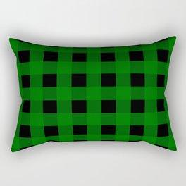 Pine Green Buffalo Check - more colors Rectangular Pillow