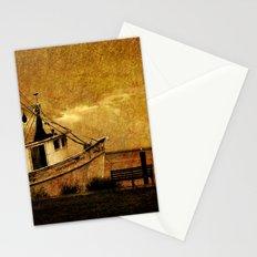 Old Shrimp Boat in Apalachicola FL  Stationery Cards