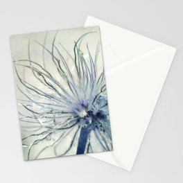 coloured feathers Stationery Cards