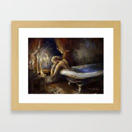 The Burnout. Framed Art Print