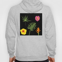 Jungle / Tropical Pattern Hoody
