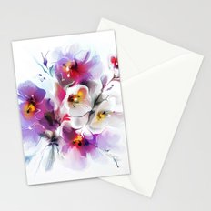 Gentle bouquet of flowers Stationery Cards