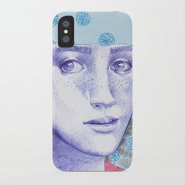 Flowery 03 iPhone Case