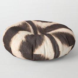 Zebra - zebra stripes -zebra skin - genuine - beautiful  Floor Pillow