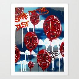 Shake Off the Dust, Arise Art Print