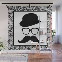 Cool Face Wall Mural