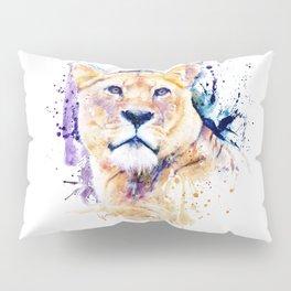 New Lioness Portrait Pillow Sham
