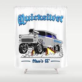 QUICKSILVER-2 Gasser Shower Curtain