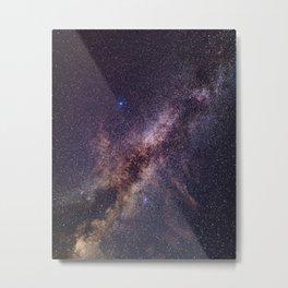 Fainting Milky Way Metal Print