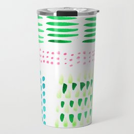 July Brushstrokes Travel Mug