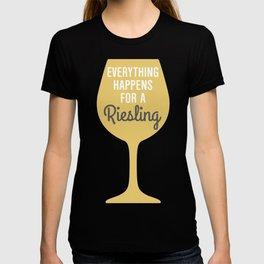 Wine Humor Riesling T-shirt