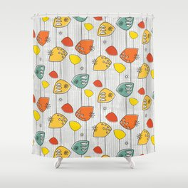 Atomic Revival Shower Curtain