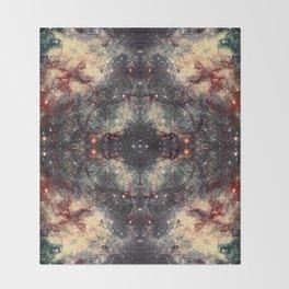 Space Mandala 30 Throw Blanket