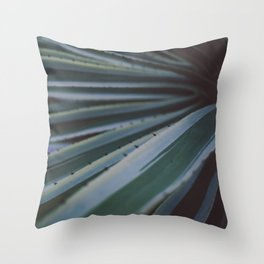 Soothing Succulent Throw Pillow